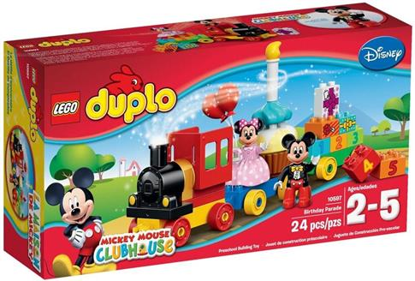 Lego DUPLO 10597 Parada urodzinowa myszki Miki