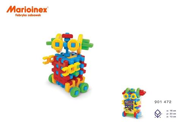Klocki Konstrukcyjne Robot