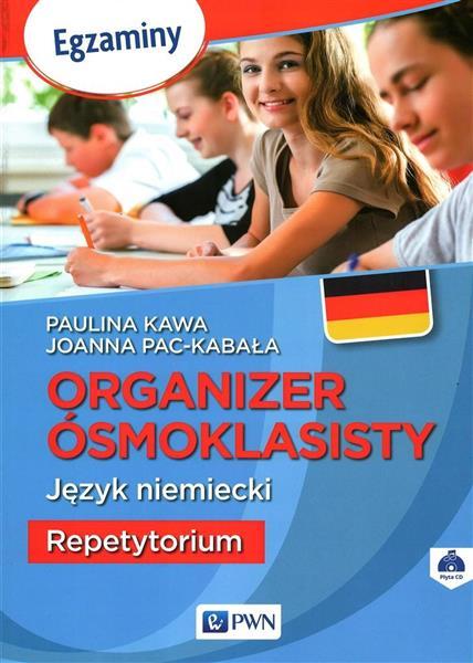 Organizer Ósmoklasisty. J.niemiecki. Repetytorium