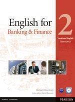 English for Banking & Finance 2 SB+CD PEARSON