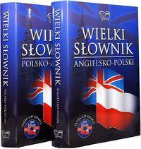 WIELKI SŁOWNIK POL-ANG, ANG-POL + CD outlet