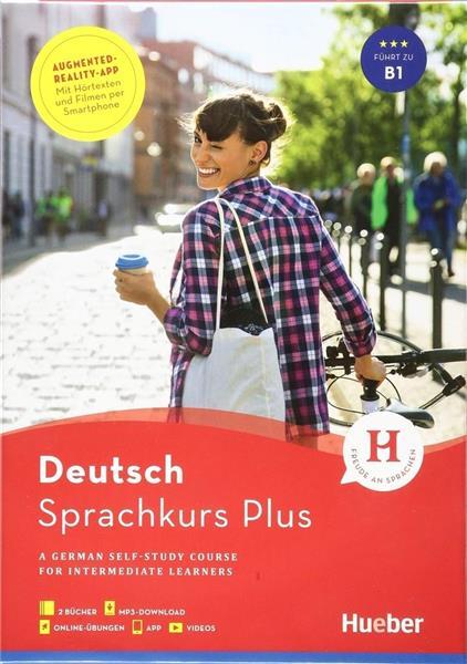 Sprachkurs Plus Deutsch B1 w.angielska HUEBER