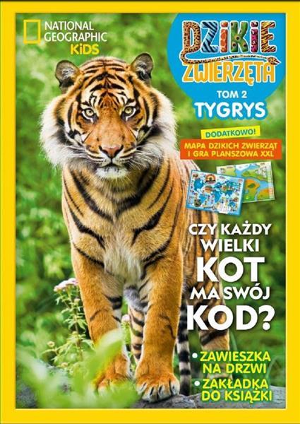 Dzikie Zwierzęta T.2 Tygrys