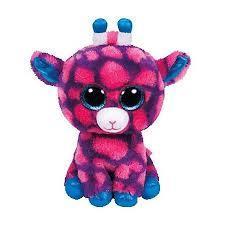 Beanie Boos Sky High - Różowa Żyrafa