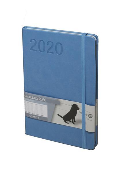 Kalendarz 2020 Minimalizm A5 J.niebieski TNS ANTRA
