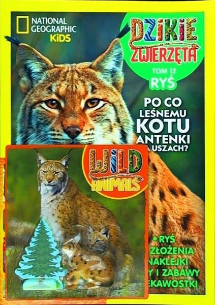 Dzikie Zwierzęta T.12 Ryś