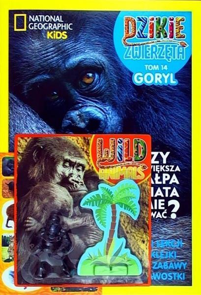 Dzikie Zwierzęta T.14 Goryl