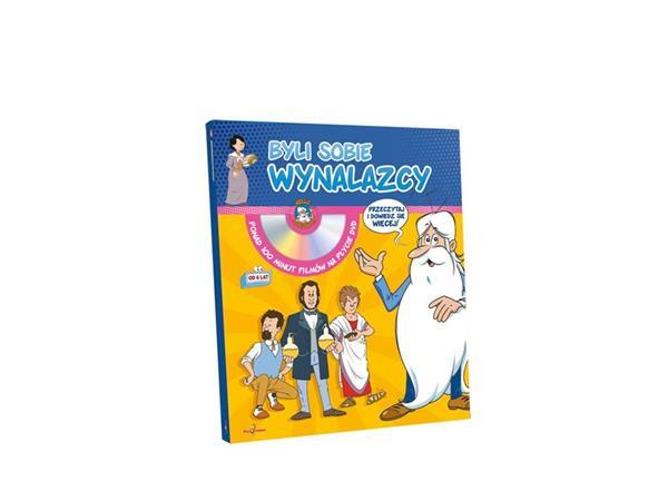 Mini encyklopedia Byli sobie wynalazcy + DVD