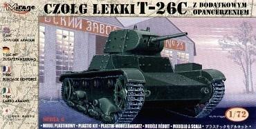 Czołg Lekki z dodatkowym opancerzeniem T-26C
