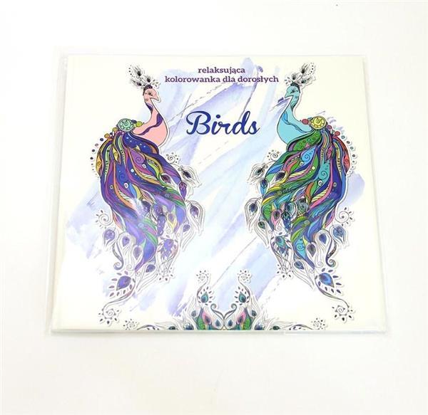 Birds. Relaksująca kolorowanka dla dorosłych