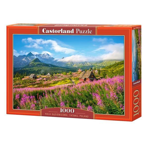 Puzzle 1000 Hala Gąsienicowa Tatry Polska CASTOR