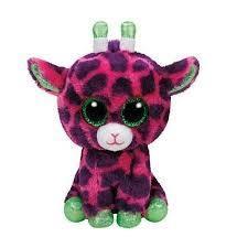 Meteor Beanie Boos Gilbert. Różowa Żyrafa