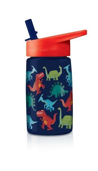 Butelka z rurką Dinozaury