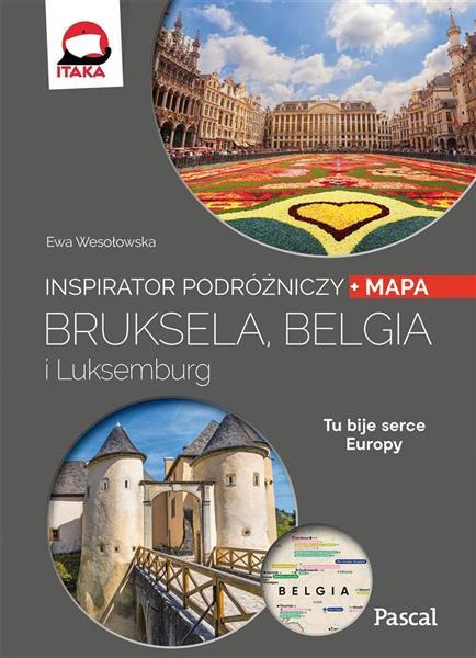 Inspirator podróżniczy. Bruksela, Belgia..